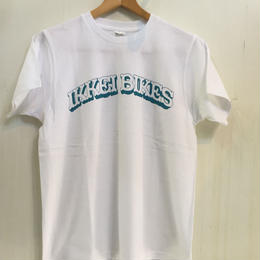 IKKEI BIKES T-SHIRT  white