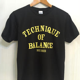 TECHNIQUE OF BALANCE T-shirt black