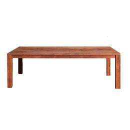 【受注生産品】オリジナルダイニングテーブル DTW/02W(天板:ウォールナット 脚:ウォールナット角脚)W1200