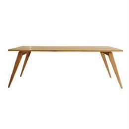【受注生産品】オリジナルダイニングテーブルDTO/01W(天板:ナラ 脚:ナラ斜め脚)W1800