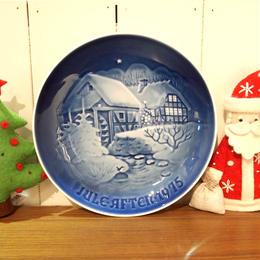 【ヴィンテージ】B&G ビングオーグレンダール クリスマスプレート 1975  I-953-171214