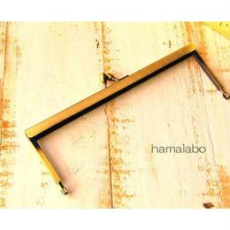 3月11日販売開始!【HA-1535】19cm浮き足口金/ナツメ玉(アンティークゴールド)