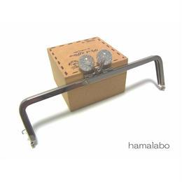 【HA-1246】16.5cm/角型(クリスタルスモールラメ)・シルバー