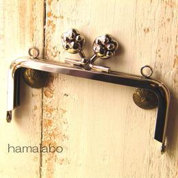 【HA-193】10cm/角型(肉球)・シルバー・カン付き