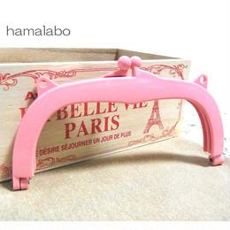 12月11日販売開始!【HA-865】18cm/くし型・プラフレーム口金(ピンク)