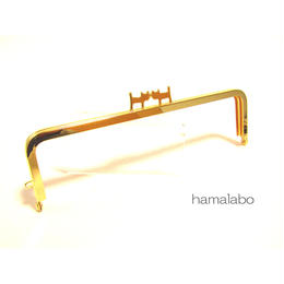 <廃盤予定>売り切り価格!【HA-1321】ペアネコ口金/16.5cm角型(ゴールド)