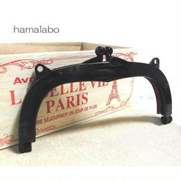 12月11日販売開始!【HA-869】18cm/くし型・プラフレーム口金(べっ甲)