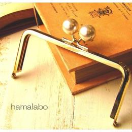 8月2日販売開始!【HA-1519】12cm/角型(ホワイトパール×ゴールド)