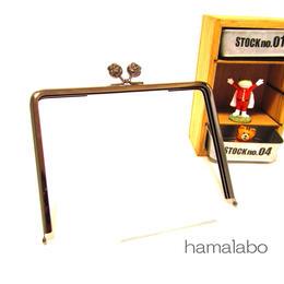 2月28日販売開始!【HA-1114】17.7cm/角型(肉球×ブラック)