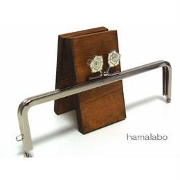 【HA-1241】16.5cm/角型(ホワイトローズ)・シルバー