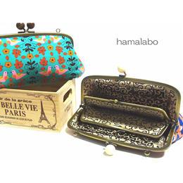 7月8日販売開始!【KT-2010】親子がま口の長財布の型紙&レシピ【19cm用】
