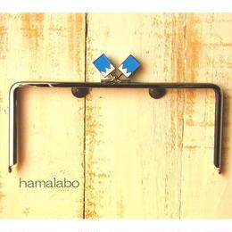 <期間限定特価!>【HA-1514】22cm/角型(新撰組×シルバー)