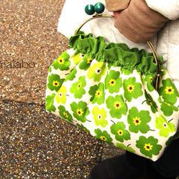 【KT2-1001】ベンリーがま口バッグの型紙&レシピ<24cm用&28cm用>
