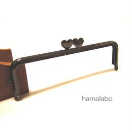 4月18日販売開始!【HA-950】<アウトレット>ハート口金 16.5cm/角型(ブラック)