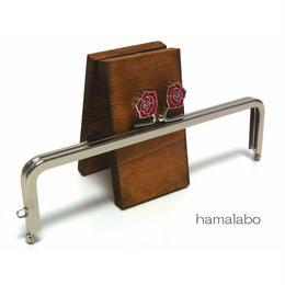 【HA-1242】16.5cm/角型(レッドローズ)・シルバー