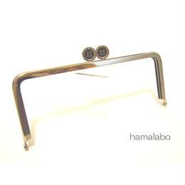 【HA-1326】ボタン口金/18cm角型(シルバー)