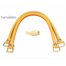 【HA-568】<ホック式>ショルダー持ち手50cm(ベージュ)-YAK-5005S