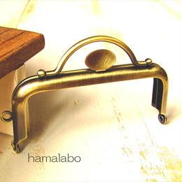 6月30日販売開始!【HA-1526】持ち手付きの押し口金8.5cm(アンティークゴールド)