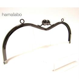 【HA-135】27.5cm大玉のメガネ型口金(ブラック)カン付き