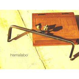 【HA-448】16.5cm角型(ネコ玉×肉球×アンティークゴールド)