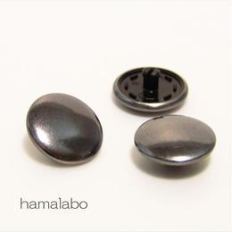 【HA-588】スナップボタン メタリック(ブラック)