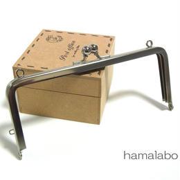 【HA-1392】13.5cm/角型口金(シルバー)カン付き