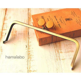 【HA-1530】24cm角型口金(ビスケット×アンティークゴールド)+(プラス)