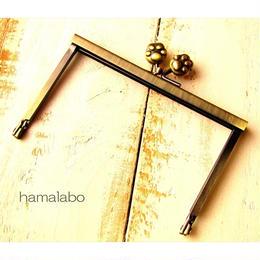 11月9日販売開始!【HA-1501】12cm浮き足口金/肉球(アンティークゴールド)