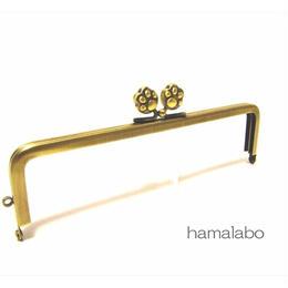 3月22日販売開始!【HA-1117】16.5cm/角型(肉球)・アンティークゴールド<短足ver>
