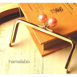 8月2日販売開始!【HA-1520】12cm/角型(ピンクパール×ゴールド)