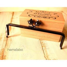 10月15日販売開始!【HA-477】16.5cm角型(ネコ玉×ブラック)