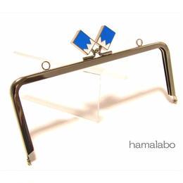 限定格安!【HA-1464】18cm/角型(新撰組×シルバー)・カン付き