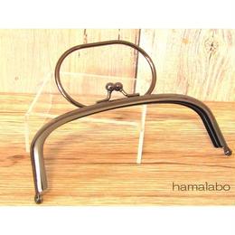 <廃盤予定>売り切り価格!【HA-1450】16cmくし型のリング付き口金(ブラック)