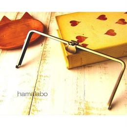 2月13日販売開始!アウトレット!【HA-1567】オコシ式口金22cm/角型(ネコ×アンティークゴールド)