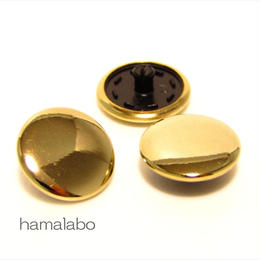 【HA-591】スナップボタン メタリック(ゴールド)