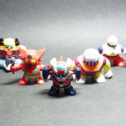 スーパーロボットクラブ (全5種)セット