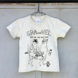 グラとベルのキッズTシャツ