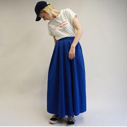 【即売品】thomas magpie long skirt royal blue