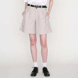 予約終了▷先行予約 thomas magpie short pants beige