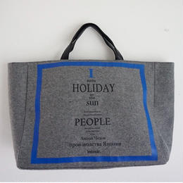 【2018AW 先行予約】holiday big tote