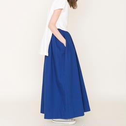 先行予約▶thomas magpie long skirt royal blue