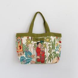 準備中【online store限定】basic tote Frida olive
