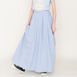 先行予約▶thomas magpie long skirt light blue