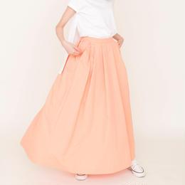 先行予約▶thomas magpie long skirt peach