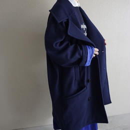 【先行予約】thomas magpie P coat navy
