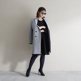 【先行予約】thomas magpie tailored coat grey