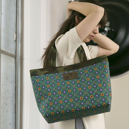 【tokyo limited】basic tote mosaico green