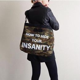 【online予約終了】 adjust strap tote  camouflage special model