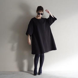 【先行予約】thomas magpie mini dress black