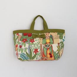 準備中【online store限定】town mini tote Frida olive